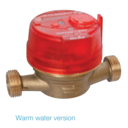 Unimag Cyble Qn 2,5 Wasserzähler Warmwasser