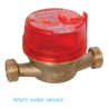 Flow meter Qn 2.5 hot water