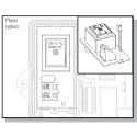 230 V power supply for heat meter CF-Echo II