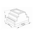 Elmätare 3.fas Modbus SDM630 MCT V2 dimensions