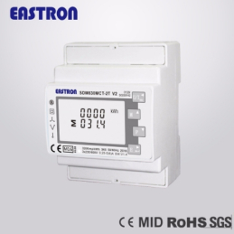 SDM630 Modbus MVT V2 MID 3-phase electricity meter