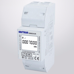 Electricity meter single phase SDM230 modbus MID