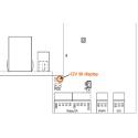 Extern onewire 4x20 oled-display
