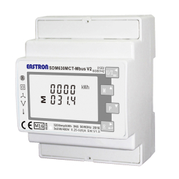 SDM630 MCT M-bus V2 MID 3-phase electricity meter