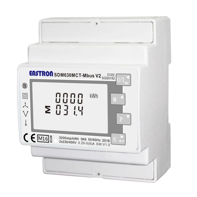 Elmätare 3-fas SDM630 MCT M-bus V2 MID