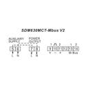 Elmätare 3-fas SDM630 MCT M-bus V2 MID andra anslutningar