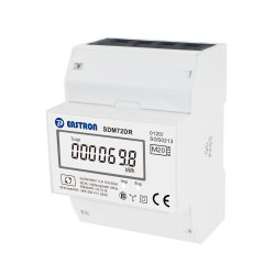 SDM72DR MID Energy Meter with resettable trip counter