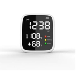 Bärbar CO2-temperatur & fukt-monitor