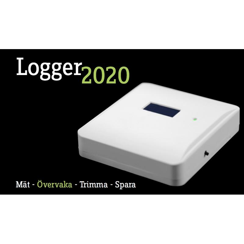 Logger 2020 med belyst display