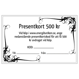 Presentkort 350 kr