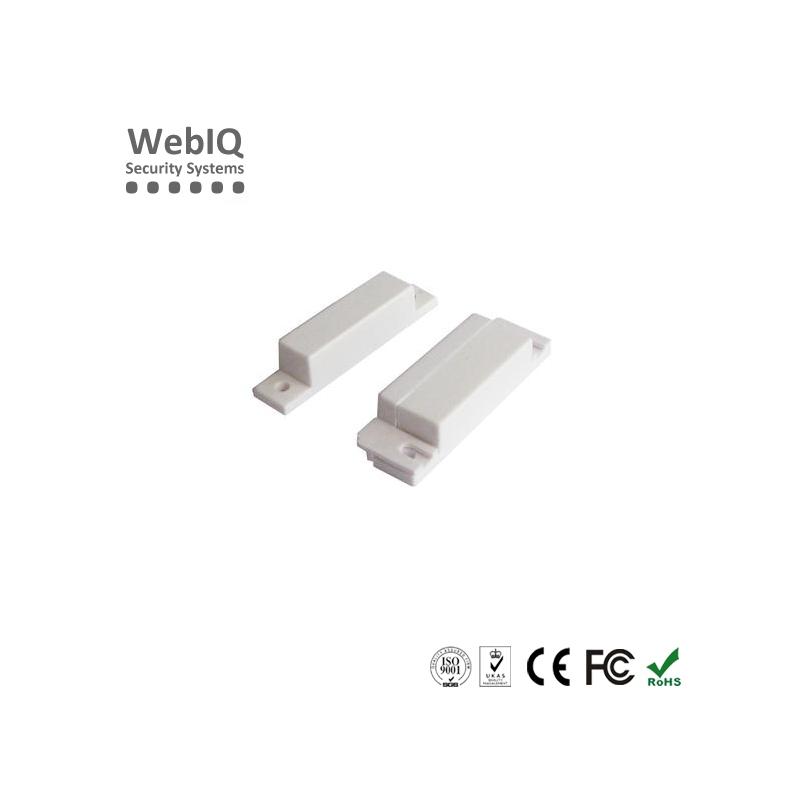 Wired magnetic door window sensor