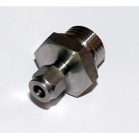 Compression fitting for temp sensors