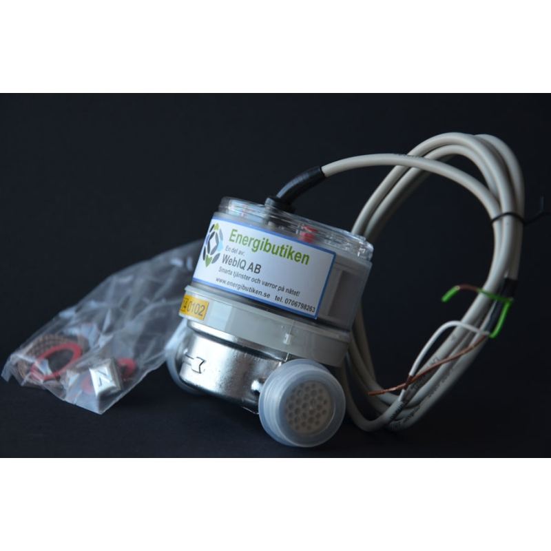 Flow meter Qn 2.5, with Pulse Output.