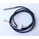 PT1000 Universal temp sensor 6 mm, 1 meter