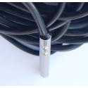 PT100 Universal temp sensor 6 mm, 1 meter