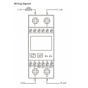 Elmätare 1-fas SDM230 modbus MID
