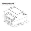 SDM630 modbus non MID dimensioner