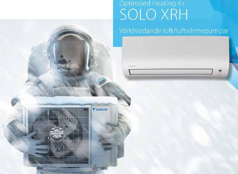 Daikin Solo XRH 35