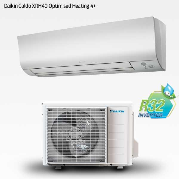 Daikin Caldo XRH40 med optimized heating 4+
